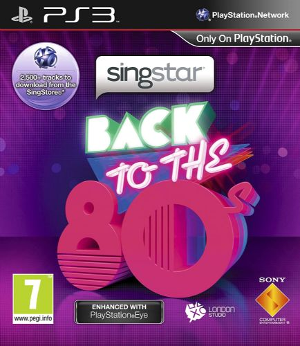 SingStar Back to the 80s (PS3)
